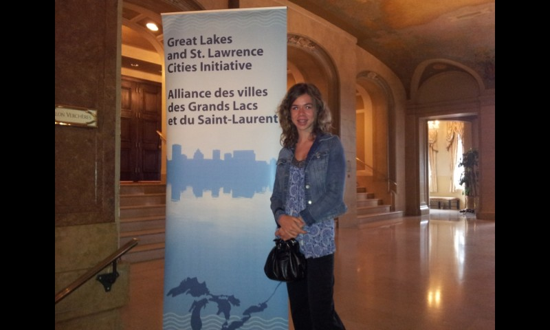 Great Lakes and St. Lawrence Cities Initiative conference in Quebec City (June 28, 2012)